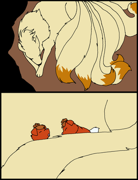Diary of a Vulpix- Pg. 1 by XfangheartX