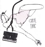 Coral Fang - The Distillers by pinklacqueredskies