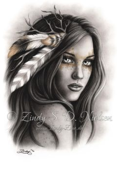 Nature Girl by Zindy