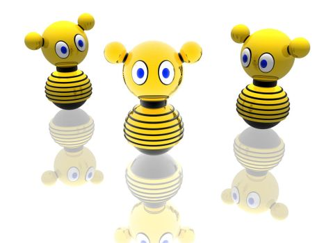 A bee bot called lula by xalthorn