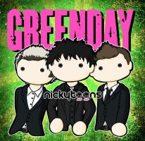 Green Day by NickyToons
