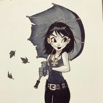Death from Sandman by ChrissieZullo