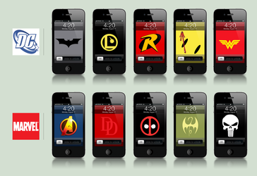 Comicbook Wallpapers 2 by artlambi