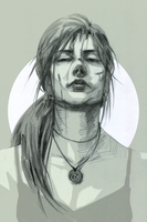 Lara Croft - Moment of Truth - concept by characterundefined