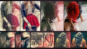 RetroVintage PSD by coral-m