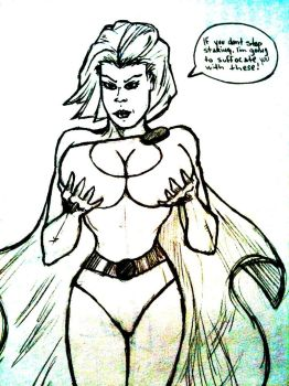 Power Girl very frustrated. by pharmdown
