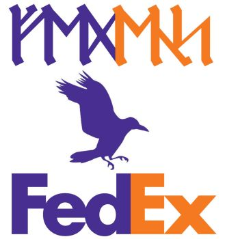 Fedex Logo Dwarf by ce-e-vel