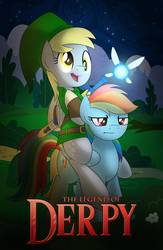 The Legend of Derpy by artwork-tee