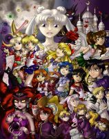 Sailor Moon R by thedustyphoenix