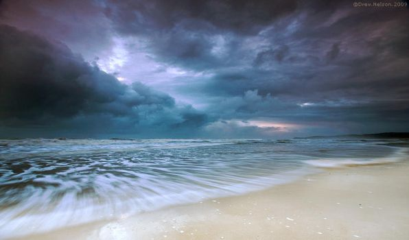 Stormy Sea by DrewHopper