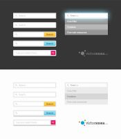 Search Forms Free PSD by victorsosea