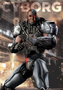 Injustice Cyborg by Progenitor89