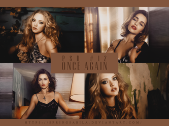PSD #12 - Once Again by SpringSabila
