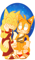 CE: Tails x Zooey by gumiguava