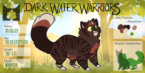 DWW | Antblaze | She-cat | Skyclan by Daisyvayle