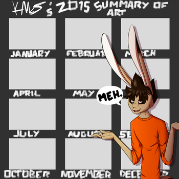 Summary of art 2015. by MessyHare