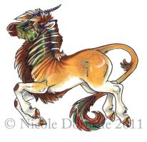 Quasi marker doodle by thornwolf