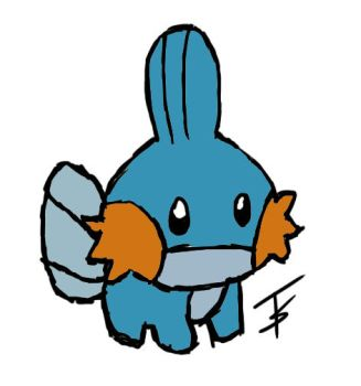 hey guise check out my mudkip by Omgitschucknorris