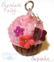 Chocolate Fairy cupcake by colourful-blossom