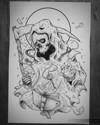 Linework for Social Anxiety by KGArtDesign