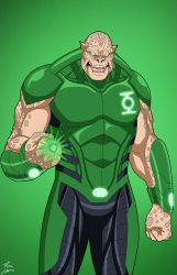 Kilowog (Earth-27) commission by phil-cho