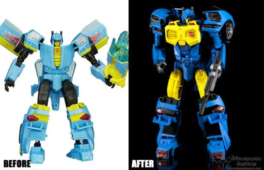 Custom Transformers IDW MTMTE Nightbeat by chonosmoon