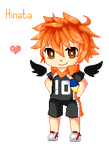 Hinata Pixel (animation) by Xtlus