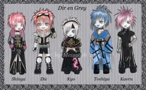 .:Dir en Grey:. by MessyAsh