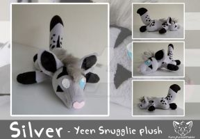 Silver - Snugglie plush by FurryFursuitMaker