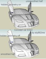 Concept car E043 modified wire by ely862me