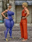 Chun-li vs. Ken by THE-FOXXX