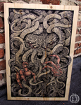 Wooden Cthulhu! by DK13Design