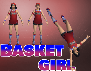 Fortnite - Basketgirl [Download] by HarleySin