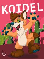 MFF badge: Koidel by pandapaco