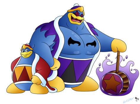 King Dedede and His Demon by StarLightDragon64