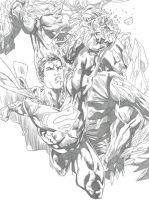superman doomsday!! by hersly860