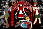 Sailor Hellsing Gang by RedPegasus237