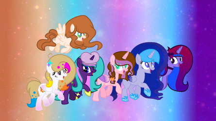 Ponytubers ( With Bg) by GalaxyDiadmondStar