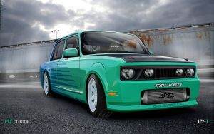 Tofas 124-Turbo by edcgraphic