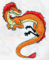 Lion Dragon by little-ampharos