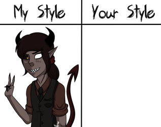 My Style VS Your Style: Sangre (READ DESC) by KATEtheDeath1