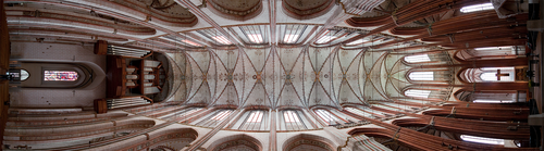 West to East in Marienkirche by davethorne