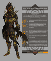 Lycan - Warframe Concept by cervaheart