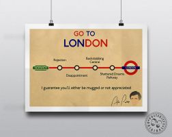 Alan Partridge Minimalist Posteritty London Quote by Posteritty