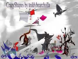 CrazyShapes by teddybearcholla