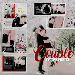 Special templates  +Couple {MINIPACK} by Bubblegomi