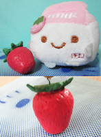 Strawberry by apple-apple
