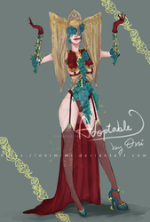 |CLOSED| ADOPTABLE + Sketch: Countess by Onimimi