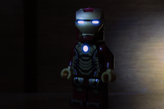 Iron Man Lego by AxzlRose