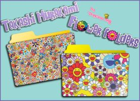 Murakami Flower Folders by princessang2644